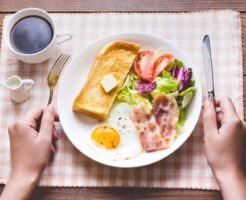 大阪体育大学 運動栄養学研究室「意外と悪くない朝食」を考える