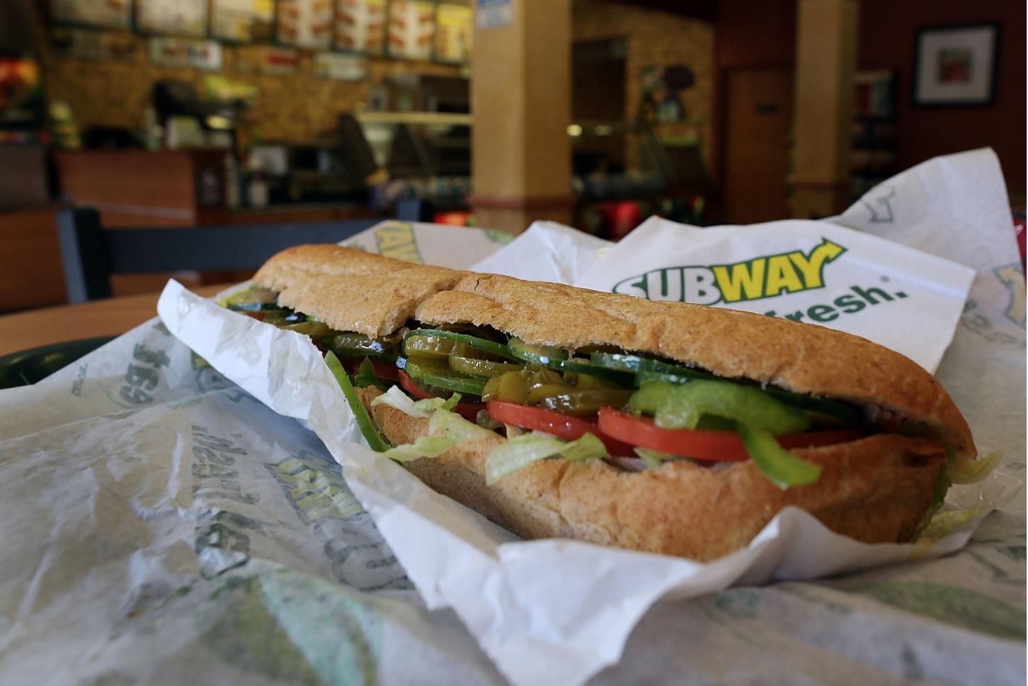 subwayのパン